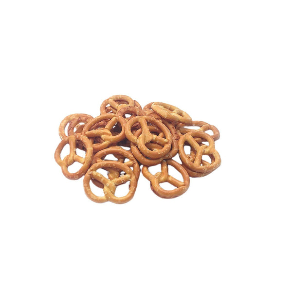 Pretzel Twists Hexagonal Jar