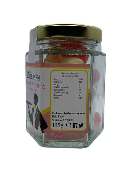 Rhubarb & Custard Hexagonal Jar  (Trade)