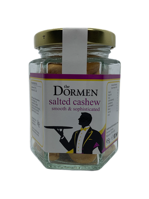 Salted Cashews Hexagonal Jar - The Dormen Food Company