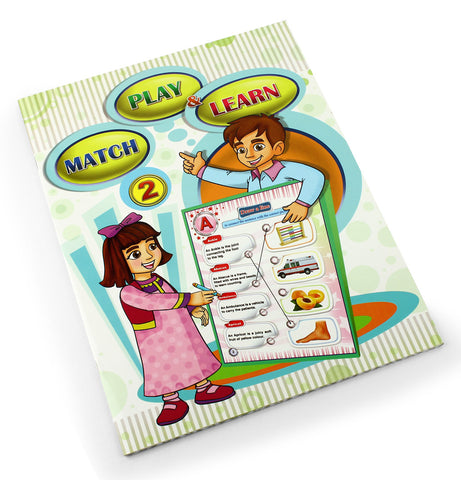 Match, Play and learn - Children learning