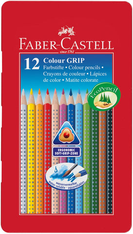 Colored pencil Color GRIP tin of 12