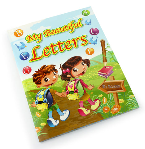 My beautiful letters - Children learning