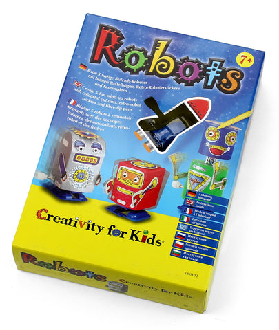 Creativity for kids - Robots