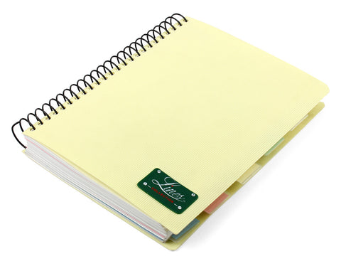 Lines collection spiral notebook