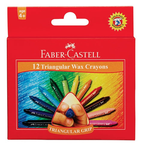 Grip wax crayons box of 12 - 90 X 11 mm