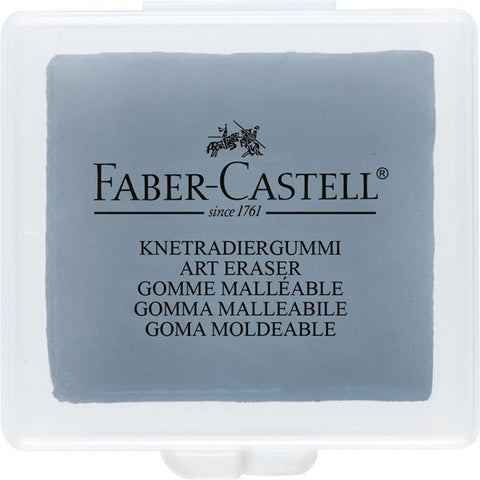 Kneadable eraser grey in plastic box - Pack of 18
