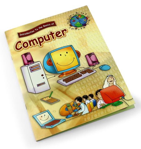 Introduction to the basics of computer - Children learning