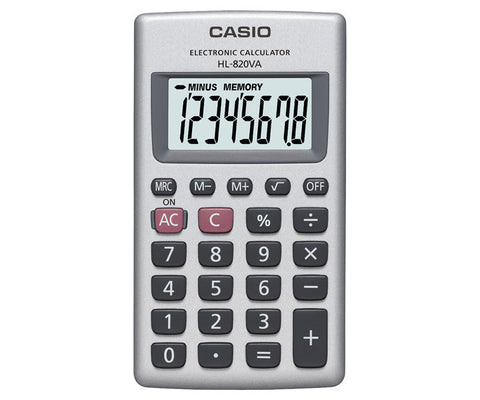 HL-820VA-W Handheld calculator