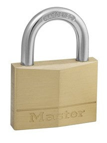 Solid brass body padlock - 50 mm wide
