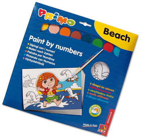 Paint by numbers coloring books - 6 Paintings