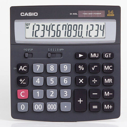 D-40L Desk-Top Type  Calculator