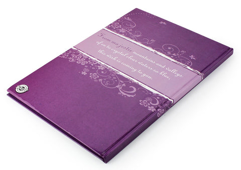 Target Glued notebook - A4 ( Hardcover )