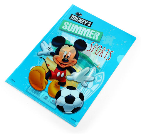 L-shape sheet protectors - MICKEY SUMMER SPORTS