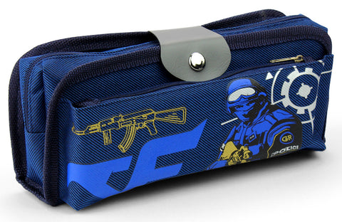 Pencil case - Soldier blue