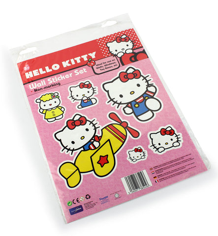 Hello kitty wall sticker kit