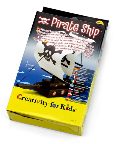Creativity for kids - Pirate ship