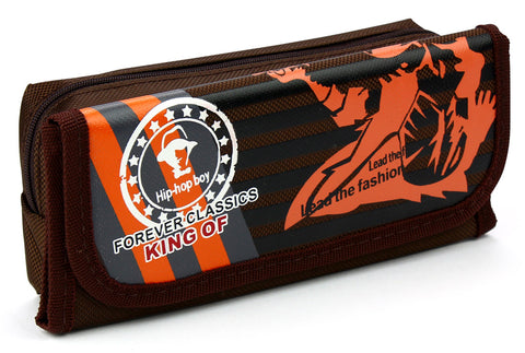 Pencil case - Hip Hop Orange