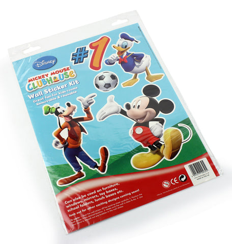 Mickey mouse club house wall sticker kit