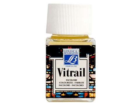 GLASS (VITRAIL) : TRANSPARENT PAINT FOR GLASS 50 ml.