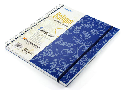 Batique Spiral Notebook A4