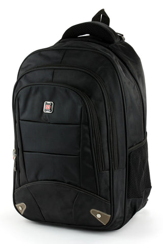 "Laptop backpack No.1012 - 18"" Black"