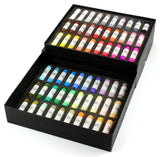 60 Assorted Handmade pastel colors - Portrait shades ( Paper Box )