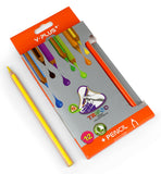 Tripod jumbo color pencils - Set of 12