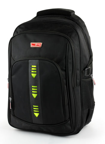 "Laptop Backpack No.14606 - 18"" Black"