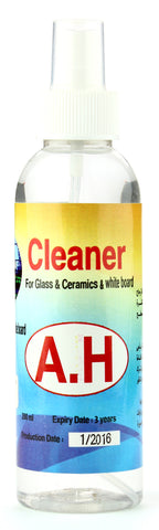 Cleaner for glass, ceramics and white board