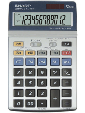 EL-337C Desktop calculator