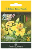 Colors of nature - Set of 12 colored Short pencils