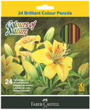 Colors of nature - Set of 24 colored pencils