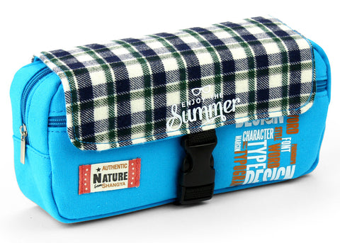 Pencil case - Summer blue
