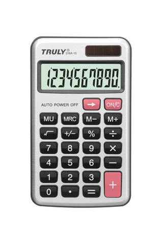 Pocket / Handheld Calculator - 216A-10
