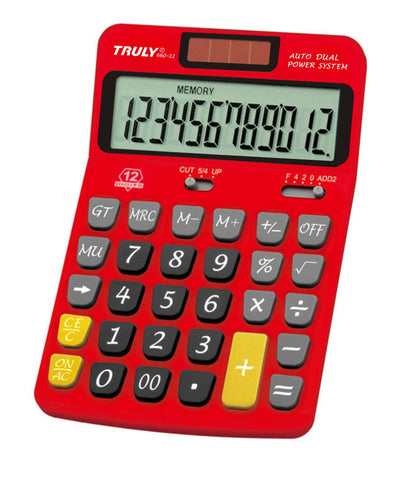 Desktop calculator - 660-12