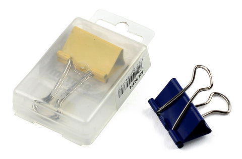 Binder Clips Assorted Colors