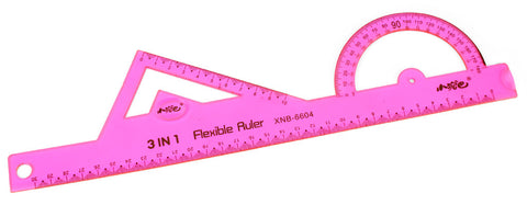 Twist-n-flex 3 in 1 Flexible ruler