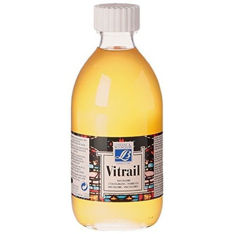 GLASS (VITRAIL) : TRANSPARENT PAINT FOR GLASS 250 ml.