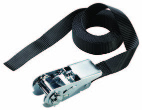Endless Ratchet Tie-Down; Black - 5 m X 25 mm