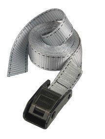 Lashing Strap; Grey 5m x 25mm