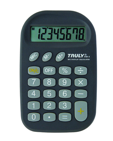 Pocket / Handheld Calculator - 318A-8