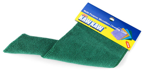 Multi-purpose microfibre cleaning cloth