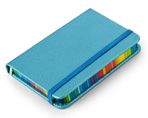 Lined / colored margin notebook  - 7.5 X 10.5 cm