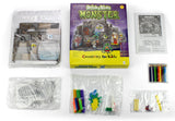 Creativity for kids - Shrinky dinks monster