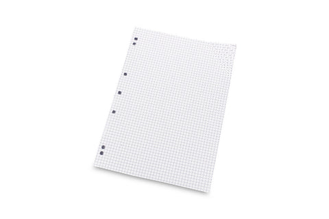 Perforated paper for ring binder - A4