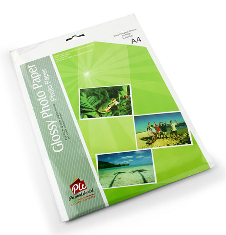 Water proof glossy photo paper ( bag of 20 ) - A4