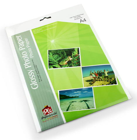 High glossy photo paper ( bag of 20 ) - A4