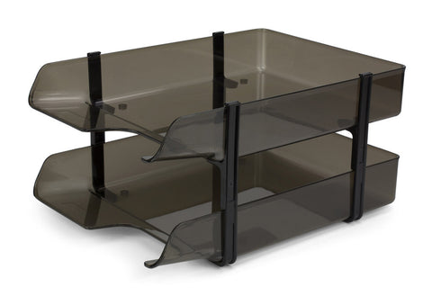 Two tier desk tray FT17501