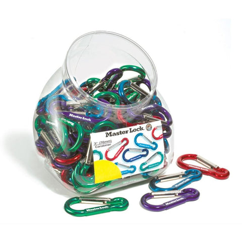 Carabine Hooks 76 mm - Assorted Colours