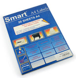 A4 Labels - Smart pack ( Pack of 20 )